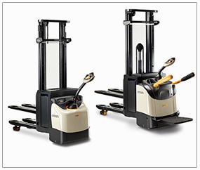 Lloguer d'equips i maquinària industrial. Carretons Elevadors. Apiladors