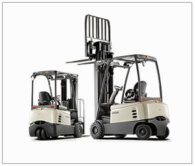 Lloguer d'equips i maquinària industrial. Carretons Elevadors elèctrics