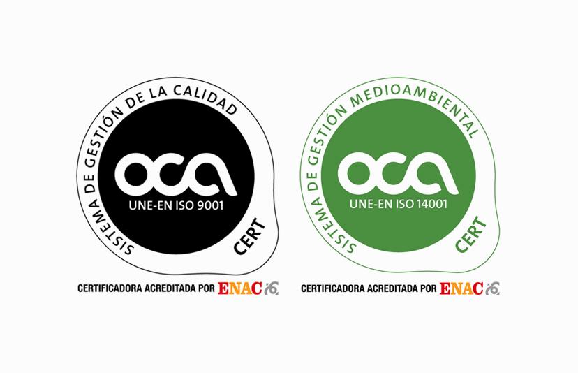Certificació OCA RENT A CAR MSF
